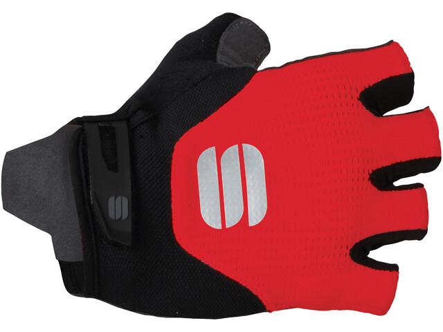 Sportful Neo Guantes, rojo/negro